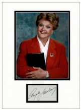 Angela Lansbury Autograph Signed Display - Murder, She Wrote